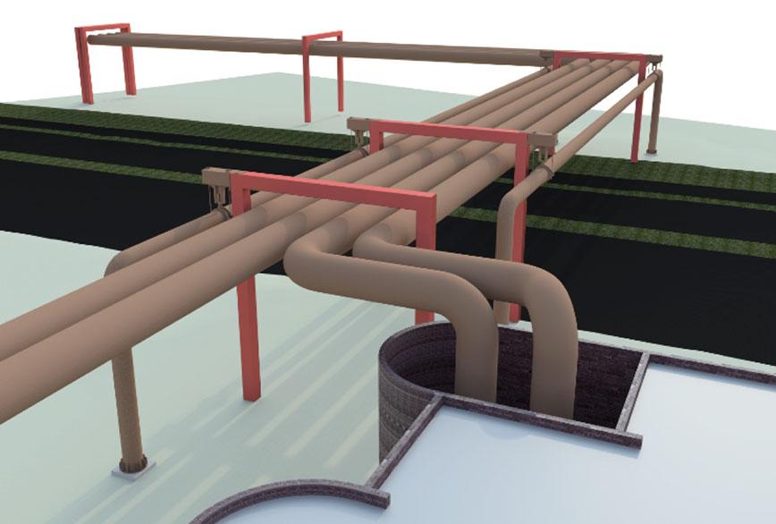 HOFOR – 3D-design af rørbro